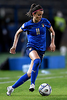 Barbara Bonansea of Italy in action during the Women s EURO 2022 qualifying football match between Italy and Denmark at stadio Carlo Castellani in Empoli (Italy), October, 27th, 2020. Photo Andrea Staccioli / Insidefoto