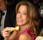 Kari Parsons with her bone-shaped bread at the 23rd Annual Celebrity Paws Gala benefitting Citizens for Animal Protection's Shelter and Pet Adoption Center at the Hilton Americas Hotel Saturday Nov. 21,2009. (Dave Rossman/For the Chronicle)