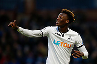 Tammy Abraham of Swansea City during the Premier League match between Burnley and Swansea City at Turf Moor, Burnley, England, UK. Saturday 18 November 2017