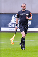 assistant referee Toon Bonduel pictured before a friendly soccer game between Zulte Waregem and Sporting Charleroi during the preparations for the 2021-2022 season , on Saturday 10 th of July 2021 in Ingelmunster , Belgium . PHOTO STIJN AUDOOREN   SPORTPIX