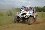 Custom built 4x4 vehicle racing at the Rallye Dresden Breslau 2007. --- No releases available. Automotive trademarks are the property of the trademark holder, authorization may be needed for some uses.