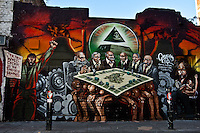 27.09.2012 - Mear One Graffiti in Brick Lane