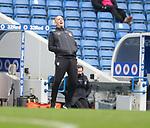06.03.2021 Rangers v St Mirren: Gary McAllister