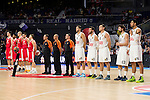 Real Madrid and Crvena Zvezda Telekom during Euroligue Basketball at Barclaycard Center in Madrid, October 22, 2015<br /> (ALTERPHOTOS/BorjaB.Hojas)