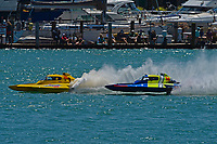 """Frame 7: Andrew Tate, H-300 """"Pennzoil"""", Donny Allen, H-14 """"Legacy 1""""       (H350 Hydro)"""