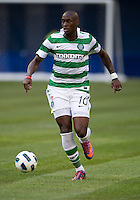 July 16, 2010 Marc Fortune No. 10 of Celtic FC during an international friendly between Manchester United and Celtic FC at the Rogers Centre in Toronto.