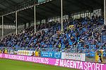 SV Waldhof Mannheim Fans wieder im Carl Benz Stadion beim Spiel in der 3. Liga, SV Waldhof Mannheim - Türgücü München.<br /> <br /> Foto © PIX-Sportfotos *** Foto ist honorarpflichtig! *** Auf Anfrage in hoeherer Qualitaet/Aufloesung. Belegexemplar erbeten. Veroeffentlichung ausschliesslich fuer journalistisch-publizistische Zwecke. For editorial use only. DFL regulations prohibit any use of photographs as image sequences and/or quasi-video.