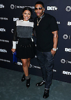 BEVERLY HILLS, CA, USA - OCTOBER 14: Shantel Jackson, Nelly arrive at the Paley Center for Media's An Evening with BET Networks' 'Real Husbands of Hollywood' held at the The Paley Center for Media on October 14, 2014 in Beverly Hills, California, United States. (Photo by Xavier Collin/Celebrity Monitor)