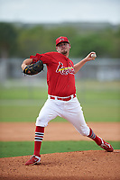 St. Louis Cardinals pitcher Austin Gomber (21) during a Minor League Spring Training game against the New York Mets on March 31, 2016 at Roger Dean Sports Complex in Jupiter, Florida.  (Mike Janes/Four Seam Images)