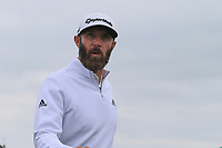 13th July 2021; The Royal St. George's Golf Club, Sandwich, Kent, England; The 149th Open Golf Championship, practice day; Dustin Johnson (USA) walks from the 8th green