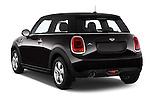 Car pictures of rear three quarter view of a 2015 MINI MINI Cooper 3 Door Hatchback Angular Rear