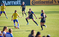 Carson, CA - September 18, 2016: The USWNT U-20 are defeated by Brazil 2-0 during the Nike Friendlies at StubHub Center.