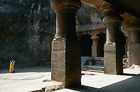 Indien, Bombay (Mumbai), Elephanta, Höhlntempel, Unesco-Weltkulturerbe