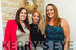 Gemma Moroney, Orla Healy and Elaine O'Brien enjoying the evening in Bella Bia on Saturday.