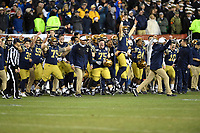 PHILADELPHIA, PA - DEC 14, 2019: The Navy Midshipmen defeat Army 31-7 to win the Presidents cup at Lincoln Financial Field in Philadelphia, PA. (Photo by Phil Peters/Media Images International)