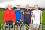 CYCLE CHALLENGE: Member's of the Chain Gang cycling club hosted the 2012 Chain Gang cycling club sportives Conor Pass Challenge and Blasket Blast at the Kerins O'Rahillys clubhouse, Tralee on Saturday l-r: Martin Switzer, Shay Cleary, Pierce Heaslip and Mark Prendiville.