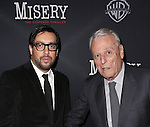 Director Will Frears and playwright William Goldman attends the Broadway Opening Night Performance of 'Misery' at the Broadhurst Theatre on November 15, 2015 in New York City.