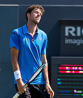 Den Bosch, Netherlands, 07 June, 2016, Tennis, Ricoh Open, Robin Haase (NED) is disapointed<br /> Photo: Henk Koster/tennisimages.com