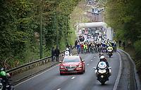 actual start of the race just outside the city limits of Liège<br /> <br /> 102nd Liège-Bastogne-Liège 2016