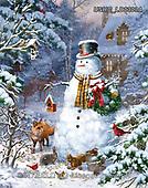Liz,CHRISTMAS SANTA, SNOWMAN, WEIHNACHTSMÄNNER, SCHNEEMÄNNER, PAPÁ NOEL, MUÑECOS DE NIEVE, paintings+++++,USHCLD0303A,#x#