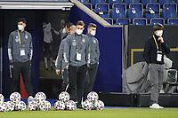 Kai Havertz (Deutschland, Germany), Timo Werner (Deutschland Germany), Bundestrainer Joachim Loew (Deutschland Germany) - 25.03.2021: WM-Qualifikationsspiel Deutschland gegen Island, Schauinsland Arena Duisburg