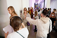 Ports 1961 <br /> Backstage RTW Spring 2021 Spring 2021 Ready-to-Wear Collection at Milan Fashion Week, Milano, Italy in September 2020.<br /> CAP/GOL<br /> ©GOL/Capital Pictures