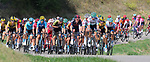 TOUR DE FRANCE 2020- UCI Cycling World Tour under Virus Outbreak. Stage 16th from La Tour-Du-Pin to Villard-De-Lans on the 15th of September 2020, La Tour-du-Pin, France. The peloton
