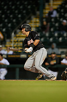 Jupiter Hammerheads Nick Fortes (7) bats during a Florida State League game against the Bradenton Marauders on April 19, 2019 at LECOM Park in Bradenton, Florida.  Bradenton defeated Jupiter 7-1.  (Mike Janes/Four Seam Images)