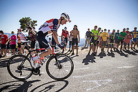 Niklas Eg (DEN/Trek Segafredo) up the Col de la lusette<br /> <br /> Stage 6 from Le Teil to Mont Aigoual 191km<br /> 107th Tour de France 2020 (2.UWT)<br /> (the 'postponed edition' held in september)<br /> ©kramon