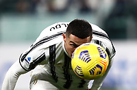 Calcio, Serie A: Juventus FC - S.S.Lazio, Turin, Allianz Stadium, March 6, 2021.<br /> Juventus' Cristiano Ronaldo in action during the Italian Serie A football match between Juventus and Lazio at the Allianz stadium in Turin, on March 6, 2021.<br /> UPDATE IMAGES PRESS/Isabella Bonotto