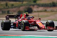 1st May 2021; Algarve International Circuit, in Portimao, Portugal; F1 Grand Prix of Portugal, qualification sessions;  Carlos Sainz Jr. ESP 55, Scuderia Ferrari Mission Winnow