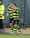 08/11/2009  Copyright  Pic : James Stewart.sct_jspa25_falkirk_v_celtic  . :: SCOTT MCDONALD CELEBRATES AFTER HE SCORES CELTIC'S THIRD :: .James Stewart Photography 19 Carronlea Drive, Falkirk. FK2 8DN      Vat Reg No. 607 6932 25.Telephone      : +44 (0)1324 570291 .Mobile              : +44 (0)7721 416997.E-mail  :  jim@jspa.co.uk.If you require further information then contact Jim Stewart on any of the numbers above.........