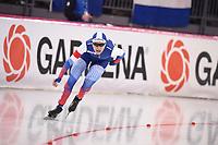 SPEEDSKATING: HAMAR: 01-03-2020, ISU World Speed Skating Championships, Allround, 1500m Ladies, Evgeniia Lalenkova (RUS), ©photo Martin de Jong