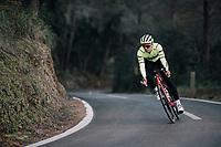 Edward THEUNS (BEL/Trek-Segafredo)<br /> <br /> Team Trek-Segafredo men's team<br /> training camp<br /> Mallorca, january 2019<br /> <br /> ©kramon