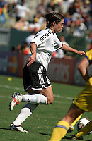 Renate Lingor, Germany 2-1 over Sweden at the  WWC 2003 Championships.