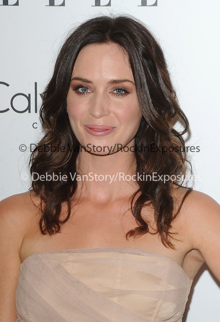 Emily Blunt at The 16th Annual Elle Women in Hollywood Tribute held at The four Seasons Hotel in Beverly Hills, California on October 19,2009                                                                   Copyright 2009 Debbie VanStory / RockinExposures