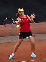 07-08-13, Netherlands, Rotterdam,  TV Victoria, Tennis, NJK 2013, National Junior Tennis Championships 2013, Anastasiya Mulder<br /> <br /> <br /> Photo: Henk Koster