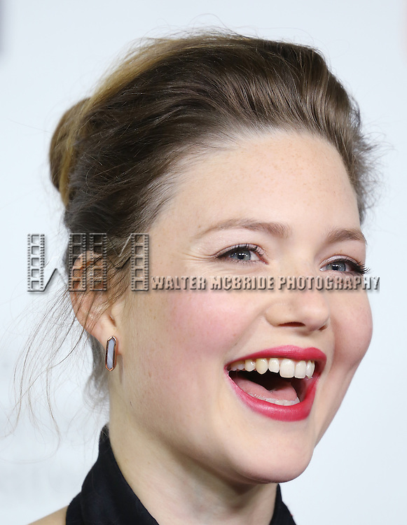 Holliday Grainger attending the 'The Riot Club' red carpet arrivals during the 2014 Toronto International Film Festival at the Roy Thomson Hall on September 6, 2014 in Toronto, Canada.