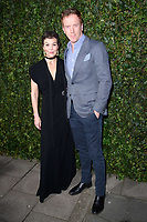 Helen McRory and Damien Lewis<br /> arriving for the 2018 Charles Finch & CHANEL Pre-Bafta party, Mark's Club Mayfair, London<br /> <br /> <br /> ©Ash Knotek  D3380  17/02/2018