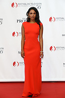 56th Monte-Carlo Television Festival opening red carpet. Candice Patton.