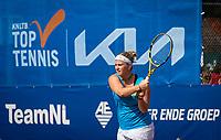 Netherlands, September 12,  2021, Naaldwijk KIA Competition mixed, premier league, LTC Naaldwijk vs TC Leimonias, womans single:    Ysaline Bonaventure (NED)<br /> Photo: Henk Koster/tennisimages.com