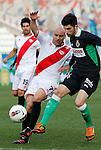 Madrid (03/03/2012).-Campo de Futbol de Vallecas..Liga BBVA..Rayo Vallecano-Real Racing Club..Movilla, Alvaro...©Alex Cid-Fuentes.......