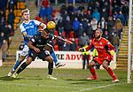 27.02.18 St Johnstone v Rangers:<br /> Alfredo Morelos heads in goal no 4