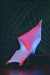NOUMENON MOBILUS (création 1953)<br /> <br /> Chorégraphie, son, lumières, costumes : Alwin Nikolais<br /> Avec : Juan Carlos Claudio, Brandin Scott Steffenssen<br /> Compagnie : Ririe - Woodbury Dance Company<br /> Lieu : Théâtre de la Ville<br /> Ville : Paris<br /> Date : 23/03/2004