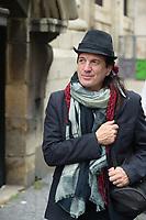 Francis Lalanne - Hommage à Gonzague Saint Bris en l'église Saint-Sulpice à Paris, France - 28/9/2017