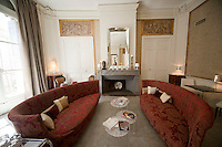 Lounge at the guest house 'Baudon de Mauny', Montpellier, France, 13 July 2012