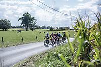 early break away group<br /> <br /> 102nd Kampioenschap van Vlaanderen 2017 (UCI 1.1)<br /> Koolskamp - Koolskamp (192km)