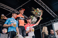 Taco van der Hoorn (NED/Roompot-Nederlandse Loterij) wins the 8th Primus Classic 2018 (1.HC) with Huub Duyn (NED/Veranda's Willems - Crelan) 2nd and Frederik Frison (BEL/Lotto-Soudal) 3rd<br /> <br /> 1 Day Race: Brakel to Haacht (193km / BEL)