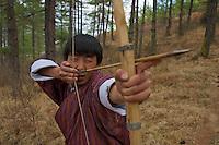 Paro -  traditional Archery, Bhutan