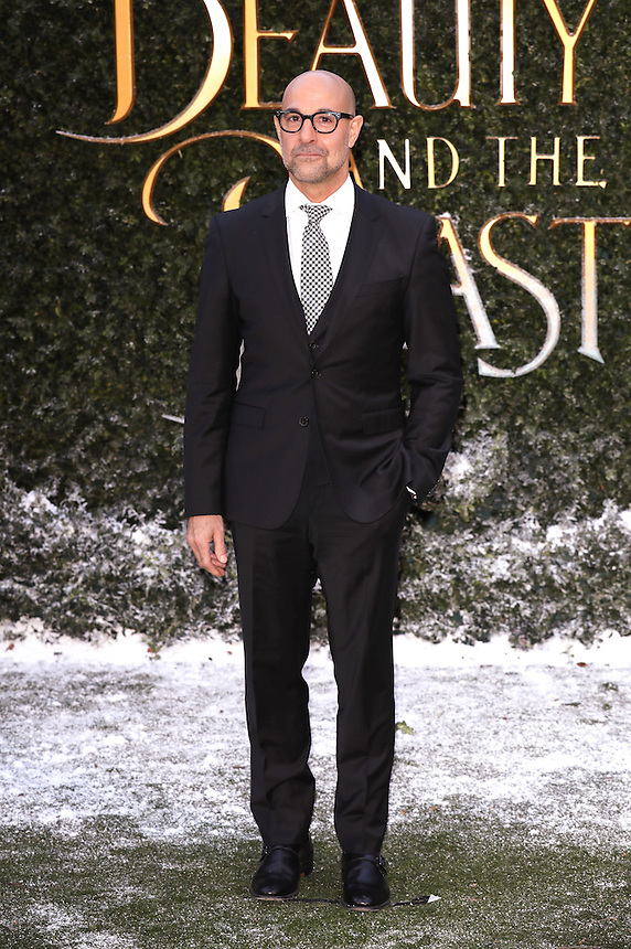 """Stanley Tucci<br /> arrives for the """"Beauty and the Beast"""" screening, St.James', London.<br /> <br /> <br /> ©Ash Knotek  D3234  23/02/2017"""